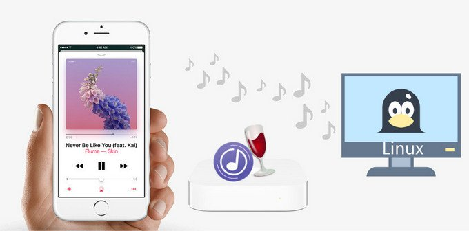 reproducir apple music en linux
