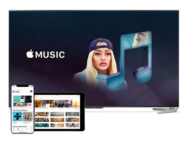 reproducir apple music en android tv
