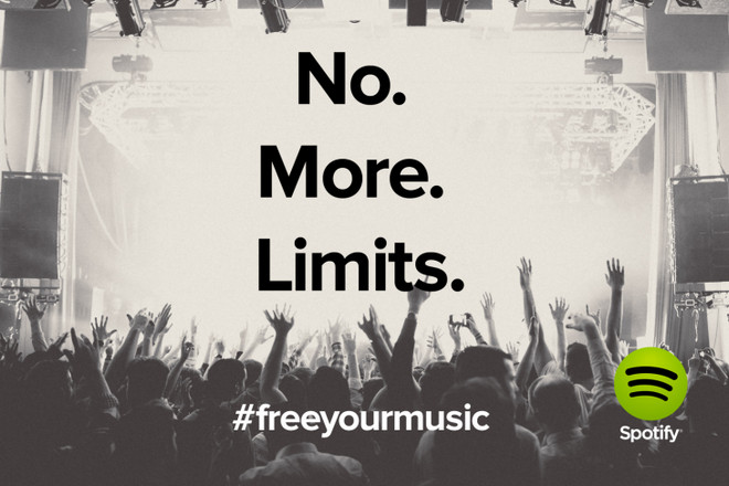Stream Spotify Music No Time Limits and No Ads