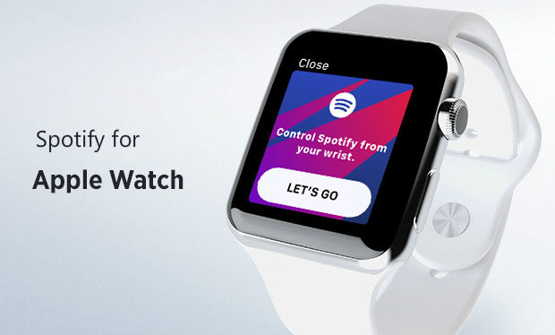 usar spotify music en apple watch