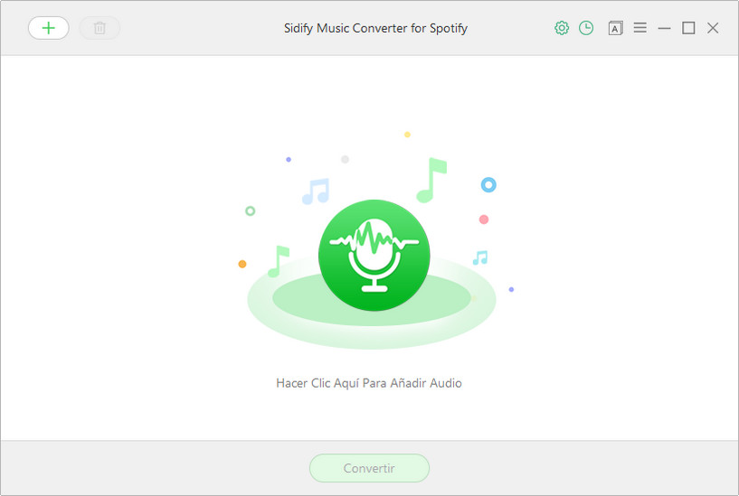 Main Interface of Spotify Music Converter for Windows